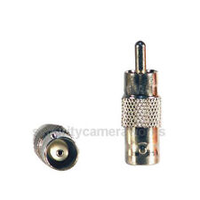 10 pcs Bnc female to Rca male connector Adapter for Cctv Camera Connection bct
