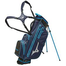 Mizuno 2019 BR-DRI Waterproof Golf Standbag, Navy / Cyan - NEU - UVP 279€ - SALE