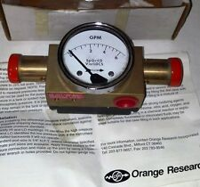 ORANGE RSRCH 2323FGS 15487 120V 6GAL/MIN DIFFERENTIAL PRESSURE FLOW METER