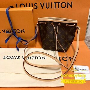 🔥NEW RARE AUTHENTIC Louis Vuitton NANO NOE Monogram Crossbody HOT GIFT RARE