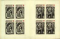 France 1961 Red Cross Fund Booklet Featuring Rouault sg1555/6 UM UM