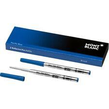 MONT BLANC Kugelschreibermine B pacific blue (blau) 116214