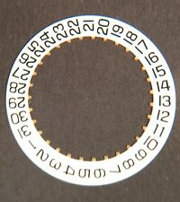 ETA 2893-1 2893-2 GMT date indicator disc many version, datum - disque