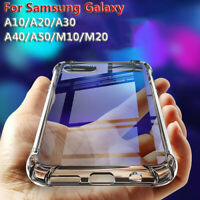 Shockproof Case Clear Soft Silicone Cover For Samsung Galaxy A50 A40 A30 A20 A10