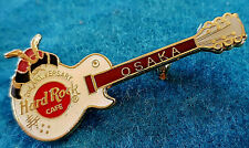 OSAKA 2nd ANNIVERSARY GUITAR SAMURAI WARRIOR HELMET Hard Rock Cafe MINI PIN