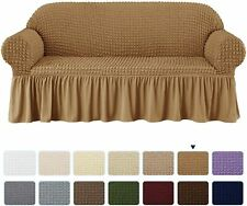 Subrtex Slipcover Sofa Chair Couch Cover Protector Stretch Skirt Furniture Soft