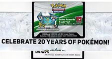 Lot X 8 (20th Anniversary Box Blastoise EX XY122 Online Code Generations Pack