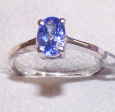 AA Tanzanite Solitaire Ring Size N