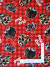 Baseball Sport Play Ball Red Plaid Cotton Fabric Springs CP63669 By The Yard
