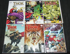 Thor Comic Lot 6Pc (Vf-Nm) The Mighty Avenger, Heaven + Earth