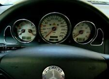 Mercedes Benz SLK R170 180 280 200 350 AMG Brabus Alu Zierblende Tacho Rahmen