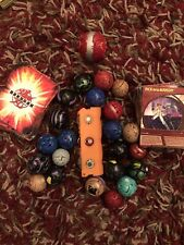 Bakugan Lot 25 Bawlers And 60+ Hard/soft Cards. All Types. Used Condition