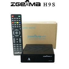 Zgemma H9S 1*DVB-S2X IPTV STALKER 4K Satellite Receiver SD TF card recording