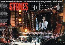 Coupure de Presse Clipping 1995 (10 pages) Les Rolling Stones deferlante à Paris