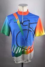 Vintage Erima Cycling Team Cycling Jersey bike rueda camiseta talla 7 - 55cm l3