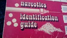 """Vintage 1970 Narcotics Identification Guide Slide """"Pull Card"""" Drug Memorabilia"""
