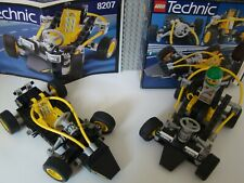 LEGO Technic 8207: 2x BUGGY DUNE DUSTER - AVEC BOITE ET PLAN + PILOTE-COMPLETS