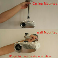 More details for uk wall ceiling mount mini bracket 3kg load for universal mini lcd/dlp projector