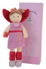 Doudou Peluche Fée Doll Poupée fille Mlle Rose papillon doudou et compagnie neuf