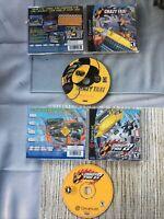 Lot Of 2 Sega Dreamcast Crazy Taxi 1 And 2 Complete CIB Excellent Discs