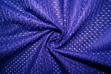 Purple #14 Athletic Sports Mesh Knit Polyester Football Jersey Fabric Bty