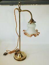 💡 ancienne lampe de bureau monte et baisse orientable en métal