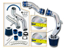 BLUE COLD AIR INTAKE INDUCTION+FILTER Fit 02-06 Nissan Sentra SER Spec V 2.5L L4