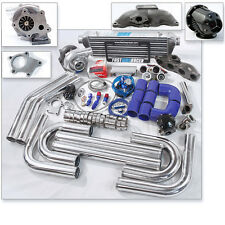 T04E T3 T3/T4 Turbo Kit Cast Turbo Manifold RSX TYPE-S Base Civic HB EP3 SI K20