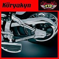 Kuryakyn Chrome Swingarm Tube Covers for 00-'07 Softail 8108