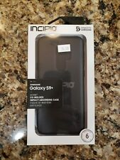 Incipio Protective Cover for Galaxy S9+ Raised Edge Octane Case Black
