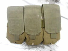 original BLACKHAWK MOLLE STRIKE m4 5.56mm triple mag POUCH uksf sf sas OG GREEN