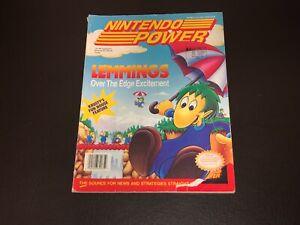 Nintendo Power Volume 37 Guide Book Lemmings Strategy