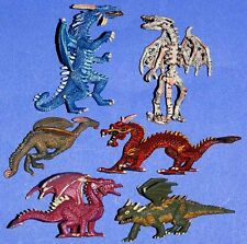 Dragón Dragon Fantasy #1 6 x Plastoy tubo