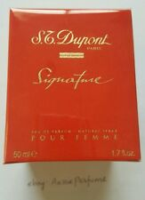 ST Dupont Signature Pour Femme 50ml/ 1.7oz EDP Spray Womens Perfume Rare