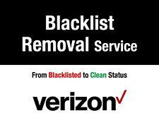 AT&T,Sprint,Verizon,T-Mobile Premium Blacklist Removal Service  All iPhones