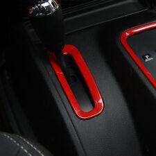 ABS Interior Accessories Gear Box Trim Cover For Jeep Wrangler Rubicon JK 11-16