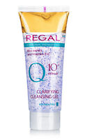 REGAL Q10+ CLARIFYING CLEANSING GEL WITH RICE EXTRACT NORMAL & MIXED SKIN 100ml.