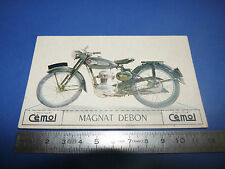 CHROMO 1950-1959 CHOCOLAT CEMOI DECOUPAGE MOTO MAGNAT DEBON 125