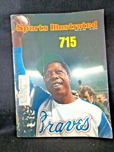 VINTAGE 1974 SPORTS  ILLUSTRATED  HENRY{ HANK } AARON  ON COVER
