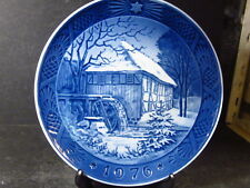 Royal Copenhagen 1976 Vibaek Watermill Annual Collector Plate