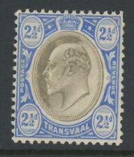 Transvaal, Mint, #255, Og Lh, Blue, Nice Centering