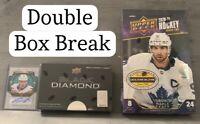 UD 20-21 Black Diamond Hobby Box + Series 2 Hobby Box Break - RANDOM TEAMS - 008