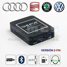 WEFATECH WF-606 DMC Interface SD USB BLUETOOTH AUX VW AUDI SKODA SEAT CDC 8 PIN