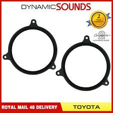 CT25TY01 165mm Front Door Speaker Adaptor Kit For Toyota Avensis Corolla Yaris