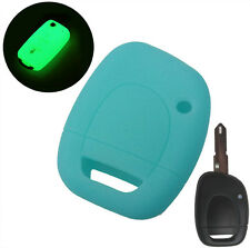 FIT FOR RENAULT TWINGO CLIO KANGOO MASTER SILICONE KEY REMOTE HOLDER CASE COVER