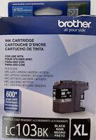 Brother LC103BK XL Black Ink Cartridge DCP-J152W  EXP 12/2016 OEM Genuine New