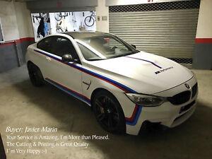 BMW M Performance - Decal Set