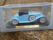 CORD L 29 SPIDER 1929 AUTO D'ELITE DE AGOSTINI - SCALA 1:43