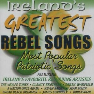 Ireland's Greatest Rebel Songs CD