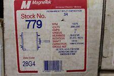 MagneTek Universal Electric Stock# 779 Motor 3/4Hp - 208-230V - 1075Rpm